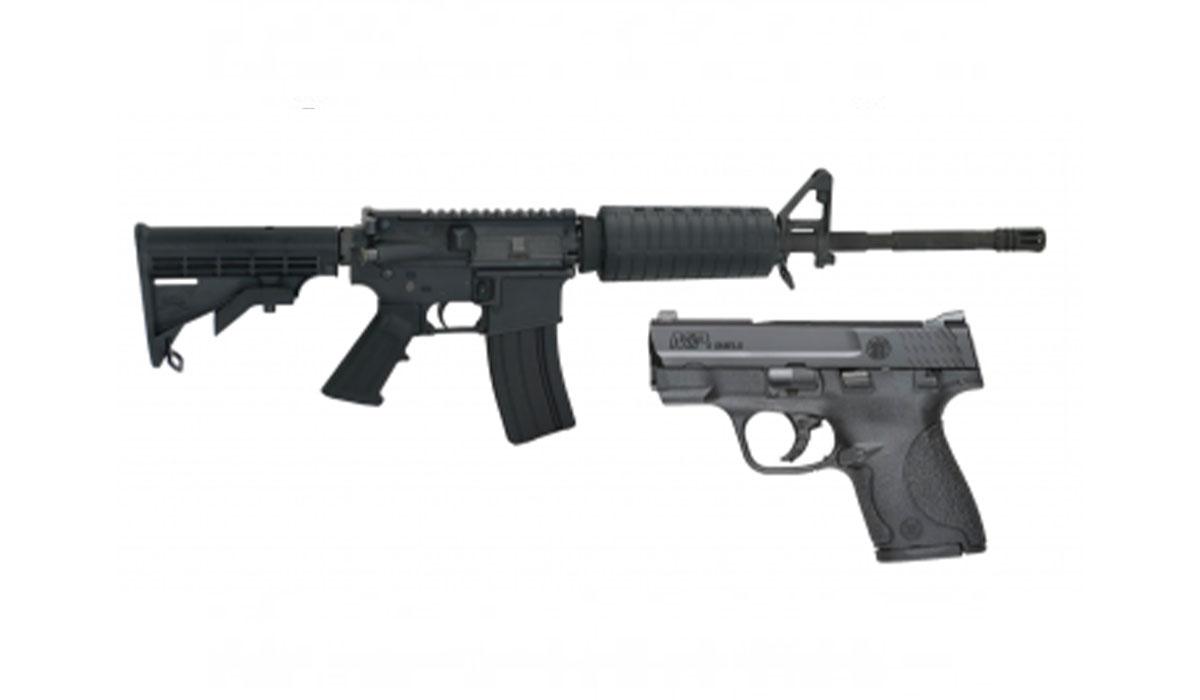 PSA 16″ M4 & S&W M&P Shield Combo for $649.99