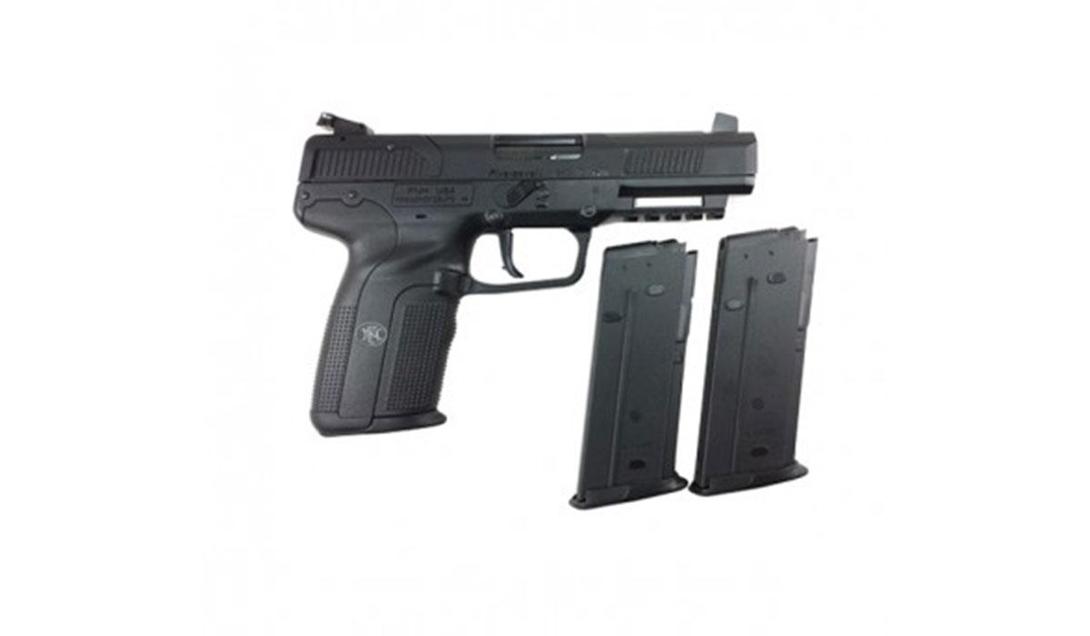 FN Five-seveN 5.7x28mm Pistol, Black