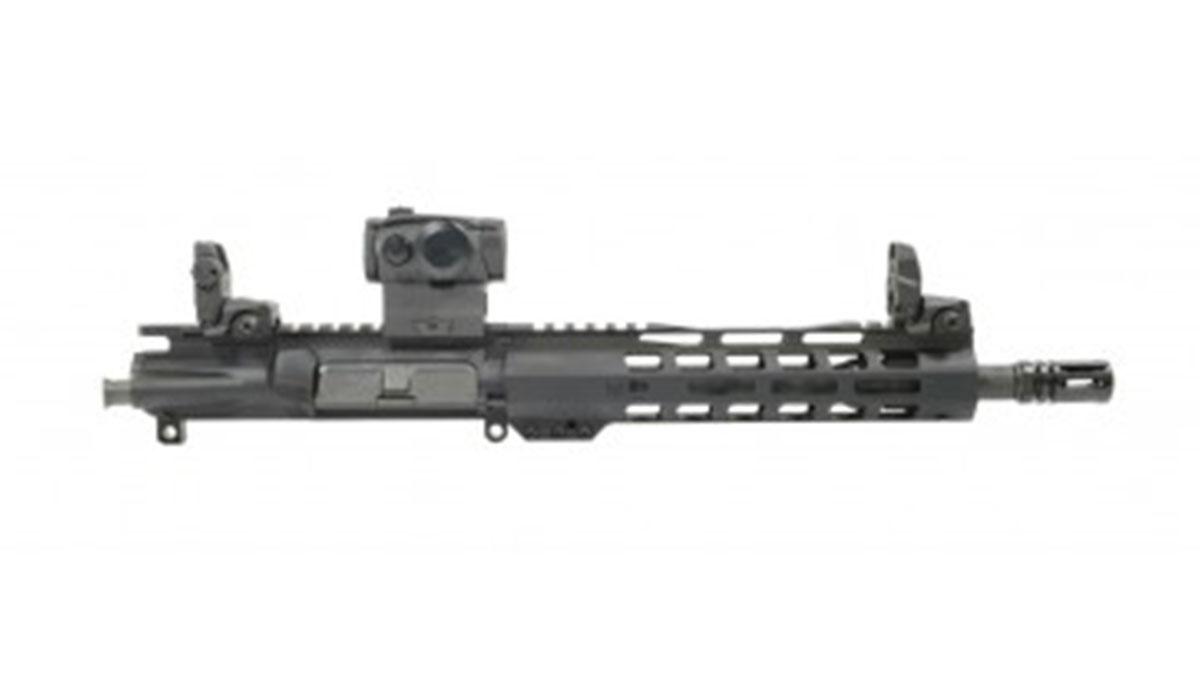 "PSA 10.5"" CHF 5.56 NATO 1/7 9"" Lightweight M-Lok Upper w/ Sig Sauer Romeo 5 & MBUS Sight Set"