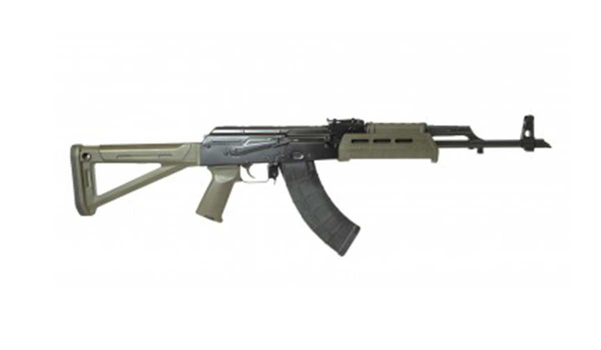 PSAK-47 GF3 Forged MOE Rifle, OD Green