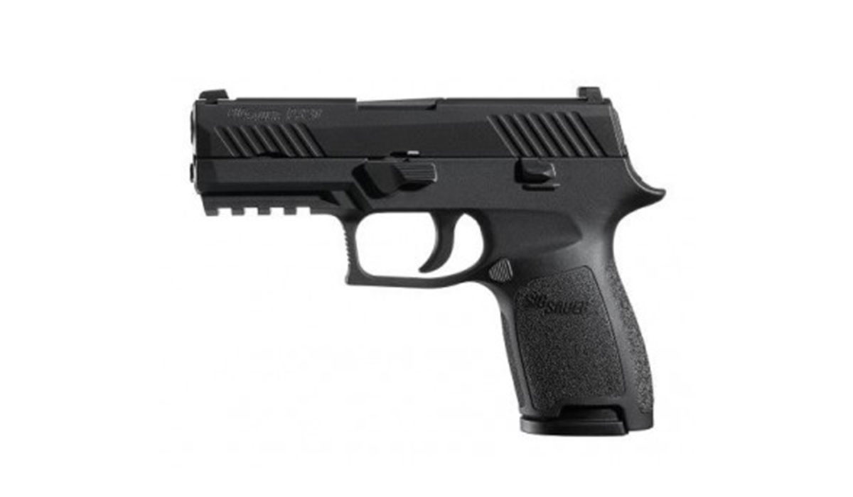 SIG Sauer P320 Compact 9mm Pistol with Contrast Sights in Black