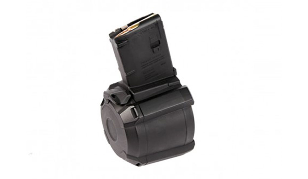 Pick up a drum mag for $129.99 + FREE SHIPPING from Palmetto State Armory